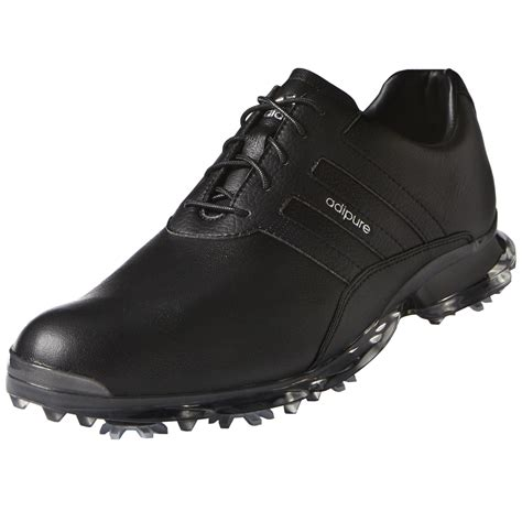adidas adipure classic s leather waterproof golf shoe 9 medium black ebay