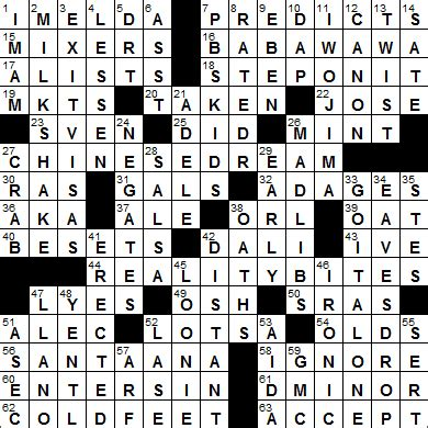 usa today crossword answers april 17 2015 la times crossword answers 19 sep 15 saturday