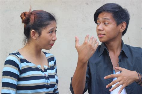 a deaf how to communicate with a deaf person through an interpreter