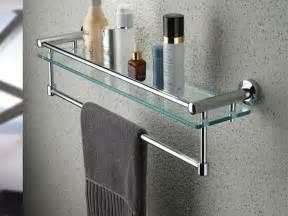 bathroom towel bar ideas bathroom shelf with towel bar brushed nickel home design