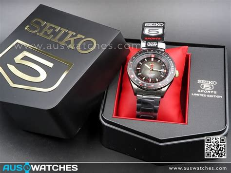 Seiko 5 Sports Srp645k1 Pilot Limited Edition Black Jam Pria Srp645 buy seiko 5 automatic limited edition all black mens srp645k1 srp645 buy watches