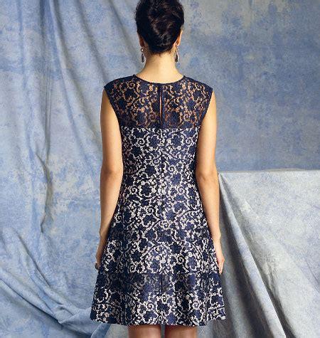 Dress D 1393 vogue patterns 1393 misses dress