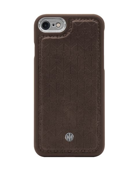 n 176 300 signature walnut brown signature silver iphone 6 6s 7 8 marvelle cases
