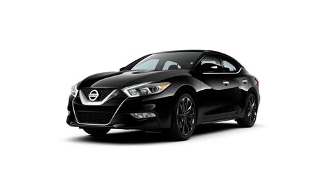 nissan black car get some black car rims with the maxima sr midnight edition