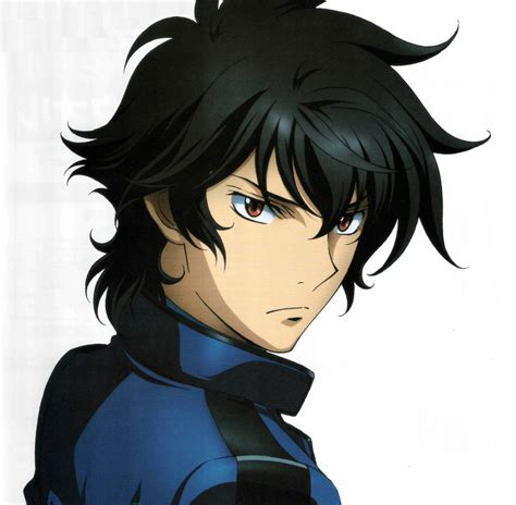 F Anime Characters by Setsuna F Seiei Soran Ibrahim From Mobile Suit Gundam