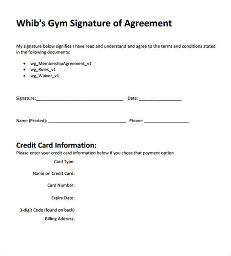 membership agreement template contract template 10 free documents in pdf