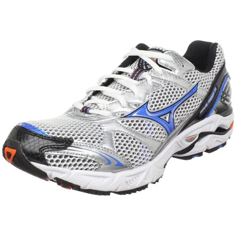 mizuno wave rider mens running shoes mizuno mens wave rider 14 running shoe in blue for