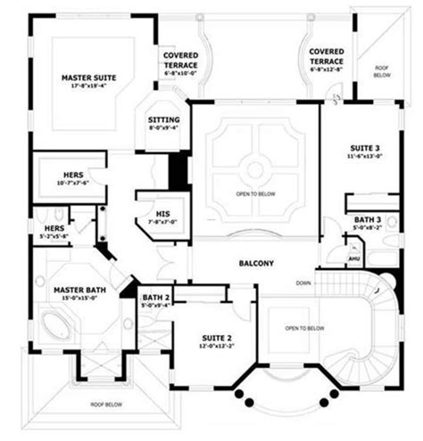 concrete block house plans 5000 house plans