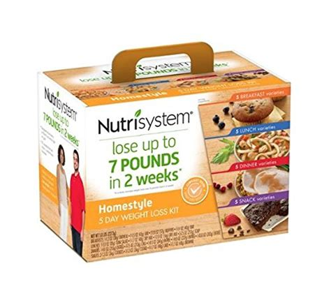 weight loss kits nutrisystem jumpstart your weight loss 5 day