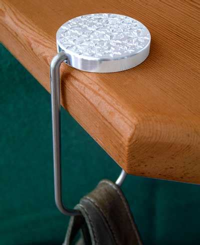 portaborse da tavolo gancio portaborse decorato leggero e snodato