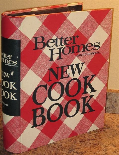Better Homes And Gardens New Cookbook by Vintage 1969 Better Homes And Gardens New Cookbook 5 Ring