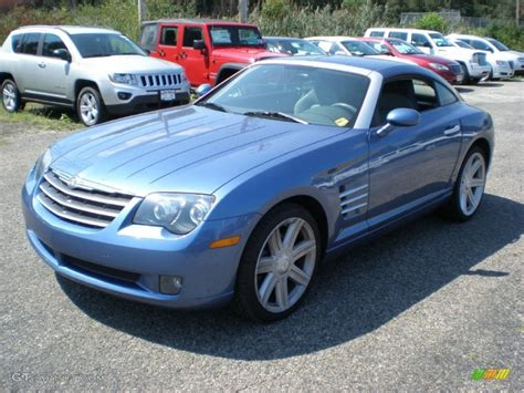 Chrysler Crossfire 2006 by 2006 Aero Blue Pearl Chrysler Crossfire Limited Coupe