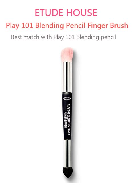 Etude House Play 101 Blending Pencil 16 Original box korea etude house play 101 blending pencil 1 1g 4ea i o i look set with blending