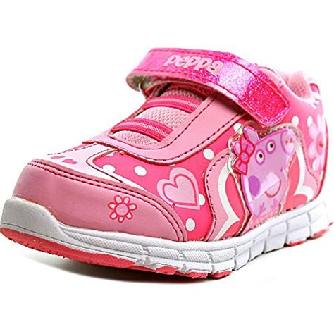 Baby Shoes Sneakers Peppa Pig Import peppa pig ppxt109 e peppa pig light up sneaker toddler shoe pink 8 shop findsimilar