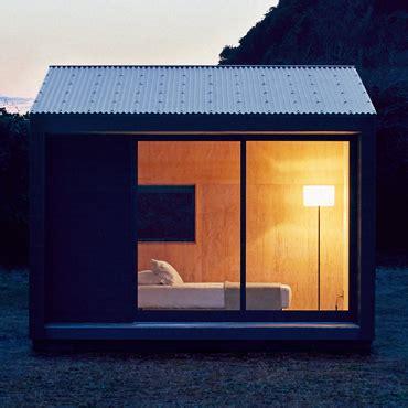 hutte nomade muji hut l habitat nomade au design minimaliste myquintus