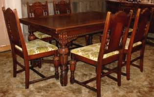 Vintage Dining Room Sets by Vintage Dining Room Chairs With Table Plushemisphere