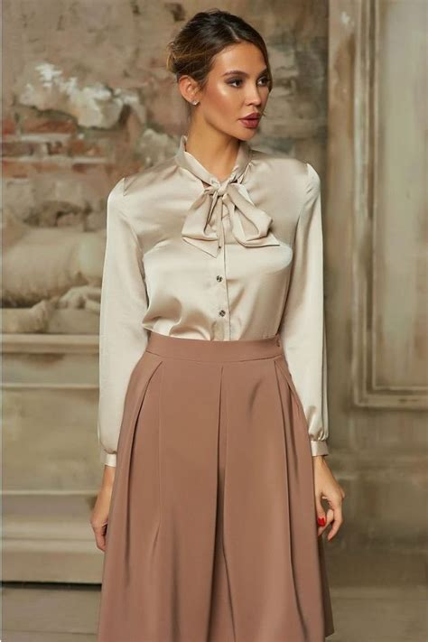 Blouse 153in 153 best satin images on blouses feminine fashion and satin blouses