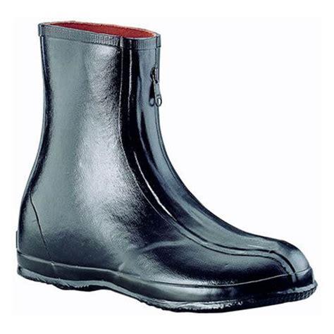 S Zipper Rubber Boots by Servus S Dress Zipper Overshoe