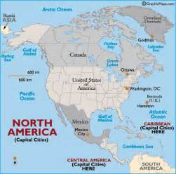 map of america with countries and capitals maps of united states and capitals labeled