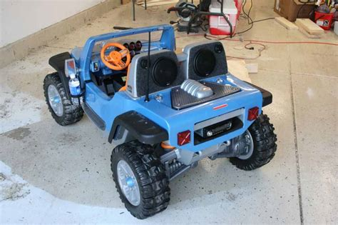 Power Wheels Jeep Hurricane Modified Power Wheels Jeep Hurricane Setup