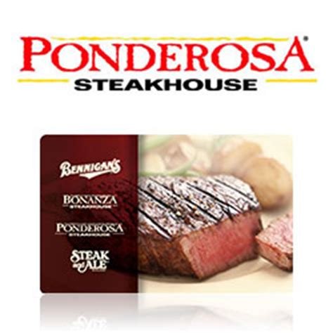 buy ponderosa steakhouse gift cards at giftcertificates com - Ponderosa Gift Cards