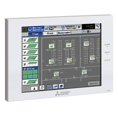 mitsubishi electric and ae 200e ae200 centralised and web controller