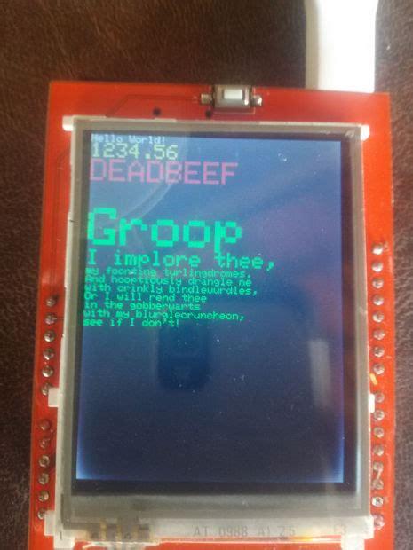 arduino uno 24 tft lcd spfd5408 with modified utft how to use 2 4 inch tft lcd spfd5408 with arduino uno and