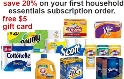Target 5 Off Gift Cards - 20 off 5 target gift card back on paper plastic items cleaning items and