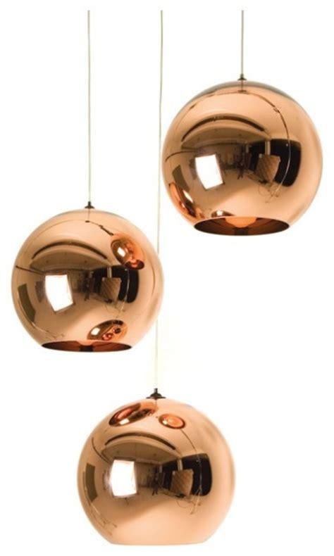 Tom Dixon Copper Pendant Light Tom Dixon Copper Shade Pendant Midcentury Pendant Lighting By Abc Carpet Home