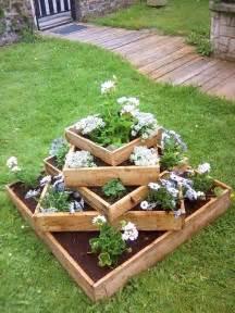15 diy garden planter ideas using wood pallets tiered