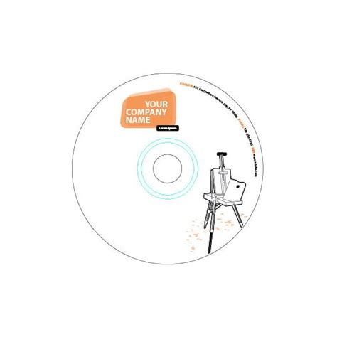 How To Use Cd Label Templates In Adobe Illustrator Adobe Illustrator Sticker Template