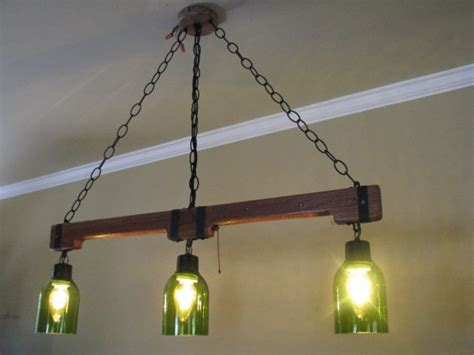 Handmade Chandeliers Ideas - 15 unique handmade bottle light ideas for creative lighting
