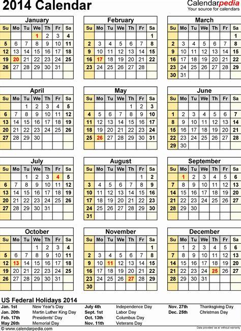excel calendar templates 2014 9 ms excel calendar template 2014 exceltemplates