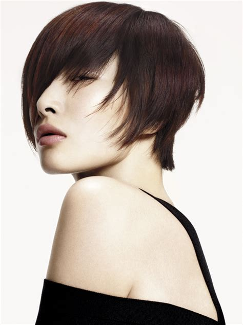 aveda hairstyles gallery cropped layered short hair styles