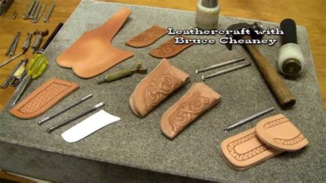 what makes a pocket knife knife sheath part 3 how to make leather pocket