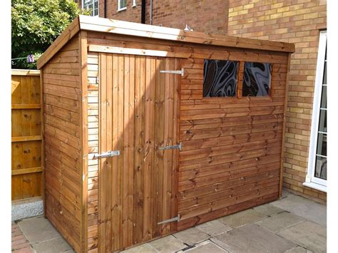 9x4 Shed 9x4 Pent A Tanalised Shed Easy Shed