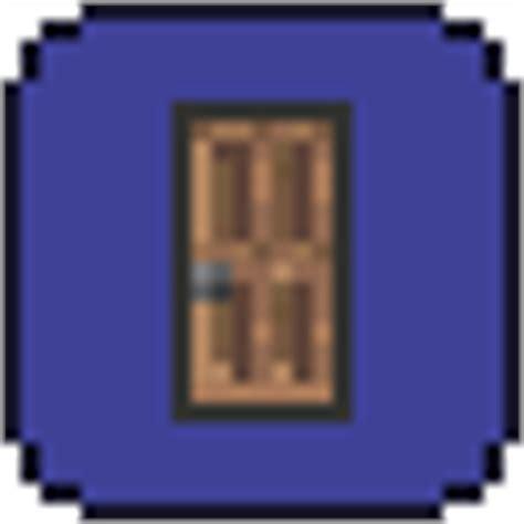 How To Open Doors In Terraria by Wooden Door Terraria Wiki Fandom Powered By Wikia