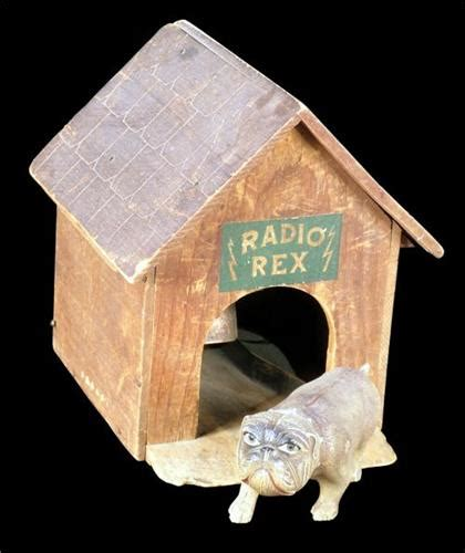 dog house radio early toy quot radio rex quot dog house and dog