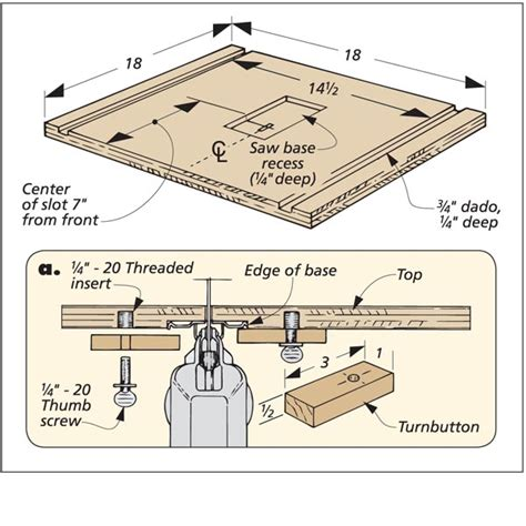 Jig Saw Table by Jig Saw Table Woodsmith Tips