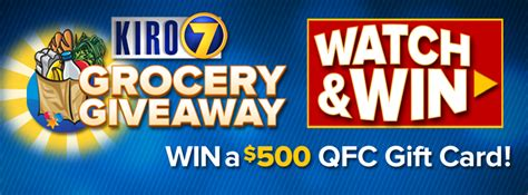 News Channel 5 Grocery Giveaway - kiro 7 grocery giveaway rules and terms www kirotv com