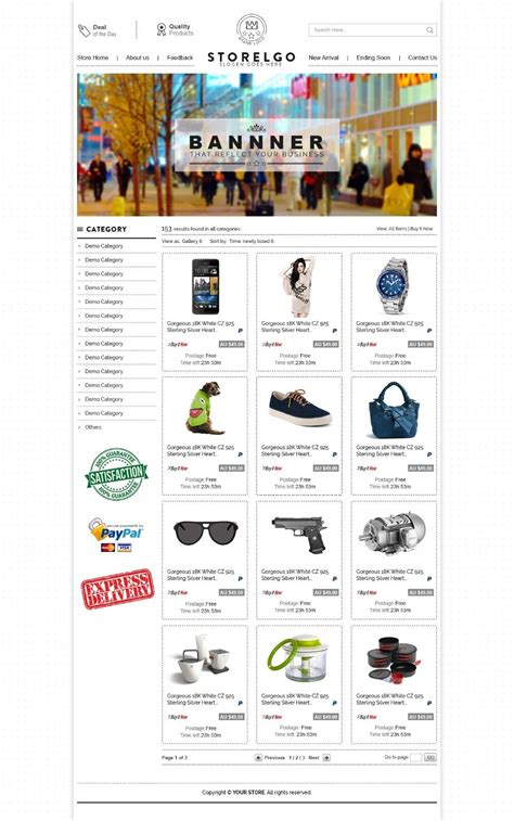 Professional Ebay Store Design And Listing Auction Templates Same Day Setup Ebay Ebay Store Templates Free