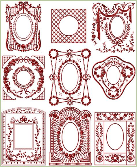 victorian pattern frame victorian frames 8x8