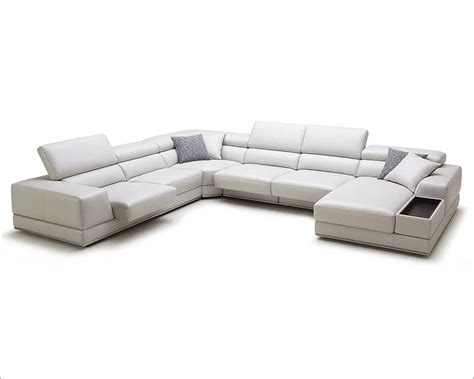 Adjustable Sectional Sofa Adjustable Headrests Sectional Sofa In Contemporary Style 44l6089