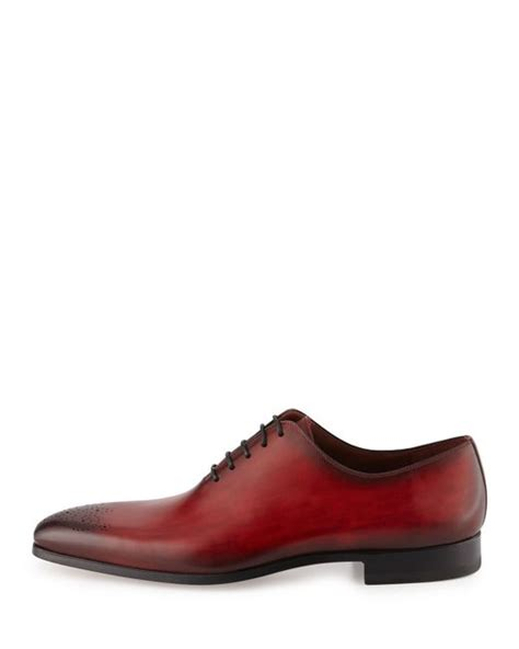 neiman shoes neiman leather lace up shoe in for lyst