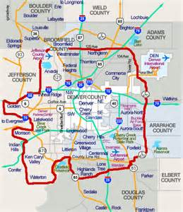 Denver Metro Area Map by Map Of Denver Metro Area Cities Quotes