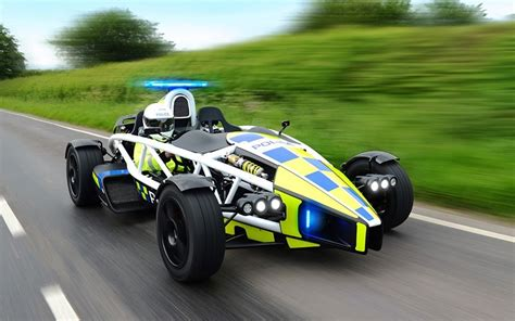 fastest police car world s fastest police car unveiled telegraph