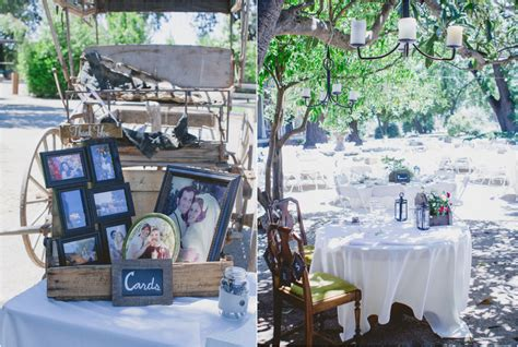 Country Chic Wedding Decor by Country Ranch Wedding In California Rustic Wedding Chic