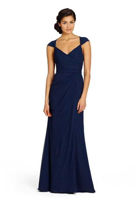 Wedding Dress Navy Blue by Beautiful Navy Blue Length Bridesmaids Gowns