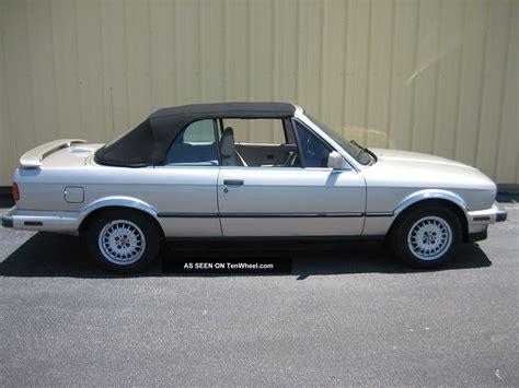 1987 bmw 325i convertible specs 1987 bmw 325i base convertible 2 door 2 5l