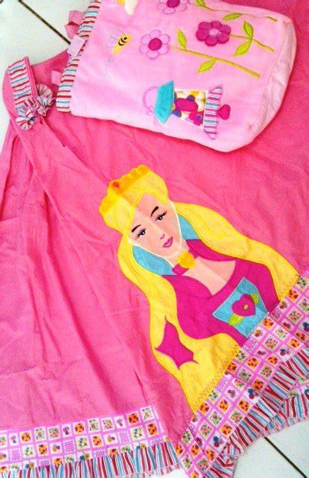 Mukena Frozen Snow Pink L mukena anak karakter toko bunda